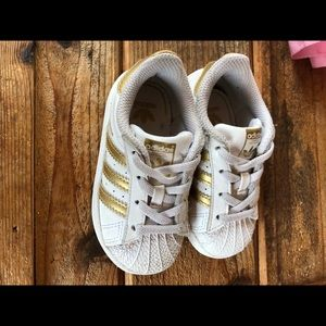 GUC gold superstar adidas 6K